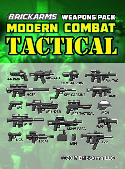 BrickArms® Modern Combat - Tactical Pack