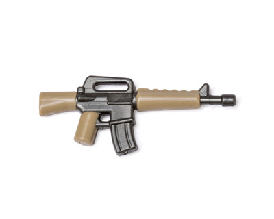 BrickArms Reloaded Overmolded M16 GM & Dark Tan