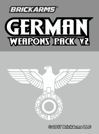 BrickArms® German Weapons Pack V2