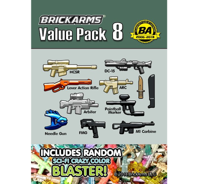 BrickArms Value Pack #8