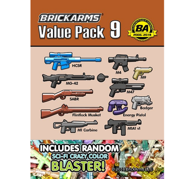 BrickArms Value Pack #9