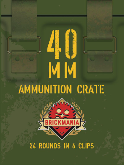 BrickArms® 40mm Ammunition Crate