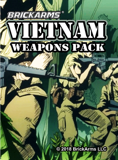 BrickArms® Vietnam Weapons Pack