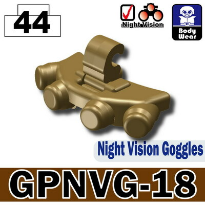 Minifig.Cat Night Vision (GPNVG-18)