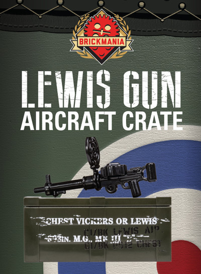 BrickArms® Lewis Gun - Aircraft Crate