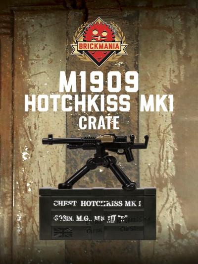 BrickArms® M1909 Hotchkiss Mk1 Crate