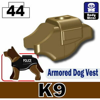 Minifig.Cat Armored Dog Vest (K9)