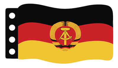 Flag - German Democratic Republic Flag