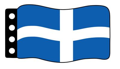 Flag - Greece Pre 1978 Flag