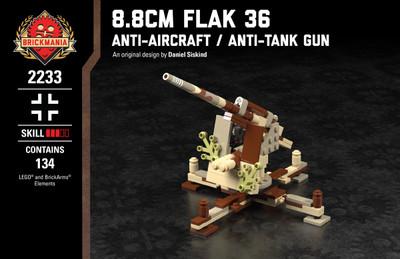 8.8cm Flak 36 - Anti-Aircraft Anti-Tank Gun