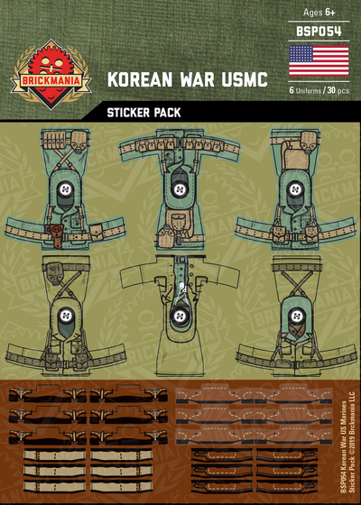Korean War USMC - Sticker Pack
