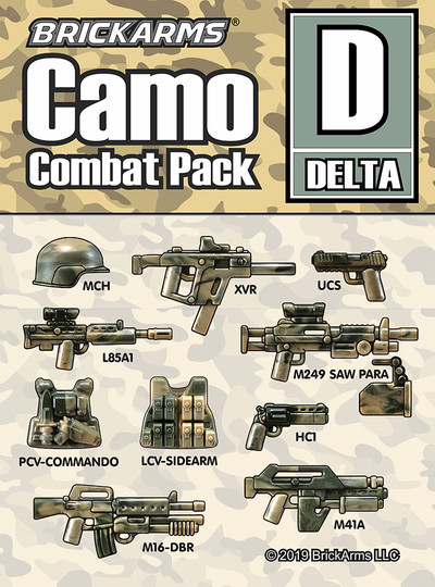 Brickarms® Camo Combat Pack - DELTA