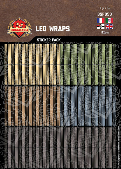 Leg Wraps - Sticker Pack