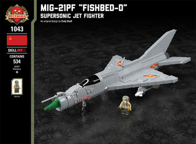 "MiG-21PF ""Fishbed-D"" - Supersonic Jet Fighter"