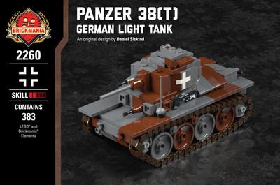 Panzer 38(t) - German Light Tank