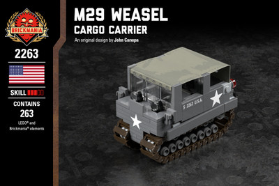 M29 Weasel - Cargo Carrier