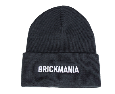 Black Winter Beanie Hat - Brickmania