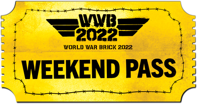 World War Brick 2022 - Weekend Pass