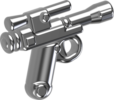 BrickArms® Shocktrooper Pistol (Silver)