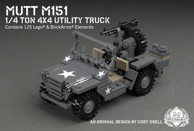 MUTT M151 - 1/4 Ton 4x4 Utility Truck