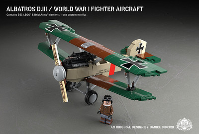 Albatros D.III - World War I Fighter Aircraft