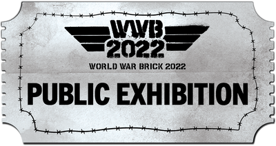 World War Brick 2022 Public Exhibition Ticket