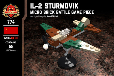 IL-2 Sturmovik - Micro Brick Battle Game Piece
