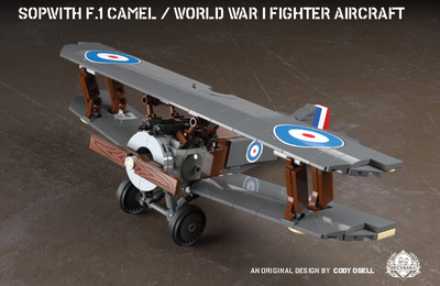 Sopwith F.1 Camel - World War I Fighter Aircraft