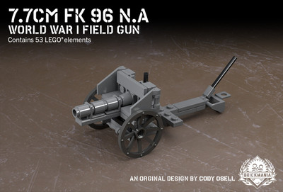 7.7cm FK 96 N.A - World War I Field Gun