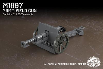 M1897 - 75mm Field Gun