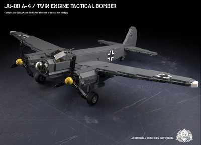 Ju-88 A-4 - Twin Engine Tactical Bomber