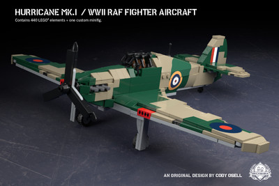 Hurricane Mk. I – WWII RAF Fighter Aircraft