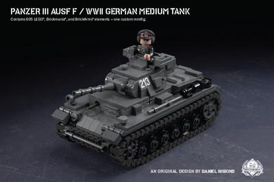 Panzer III Ausf F - WWII German Medium Tank