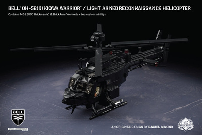 Bell® OH-58(D) Kiowa Warrior™ - Light Armed Reconnaissance Helicopter