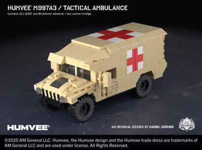 Humvee® M997A3 - Tactical Ambulance