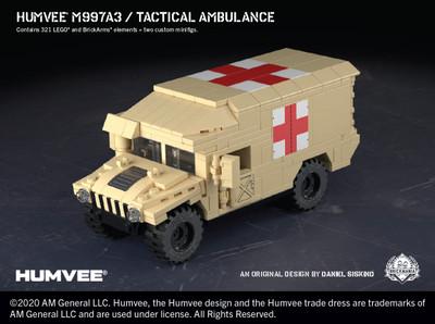 Humvee® M997A3 - Tactical Ambulance