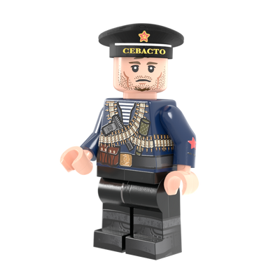 WWII Soviet Naval Infantry - Minifig of the Month