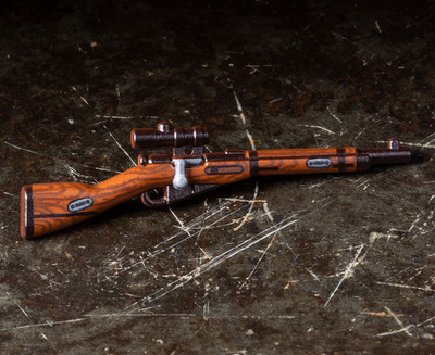 Perfect Caliber™ BrickArms® Mosin Nagant WITH SCOPE