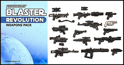 BrickArms® Blaster Pack - Revolution