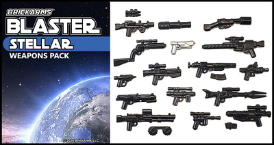 BrickArms® Blaster Pack - Stellar