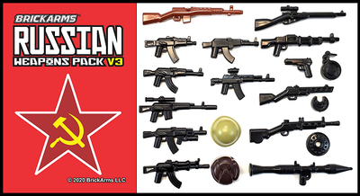 BrickArms® Russian Weapon Pack V3