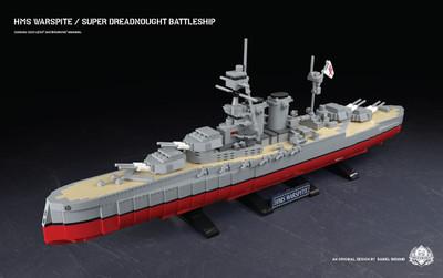 HMS Warspite - Super Dreadnought Battleship