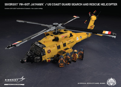 Sikorsky® MH-60T Jayhawk™ - U.S. Coast Guard Search and Rescue Helicopter