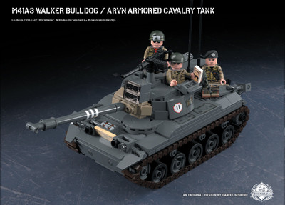 M41A3 Walker Bulldog - ARVN Armored Cavalry Tank