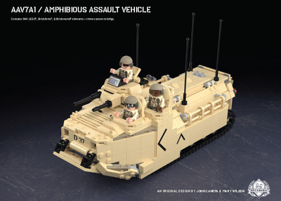 AAV7A1 - Amphibious Assault Vehicle