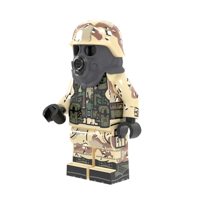 Desert Storm US Army Infantry - Minifig of the Month