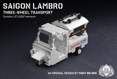 Saigon Lambro – Three-Wheel Transport