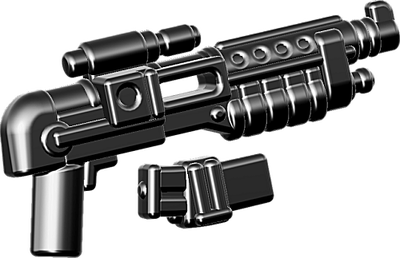 BrickArms®  E-24DT Blaster Rifle w/Mag - Black