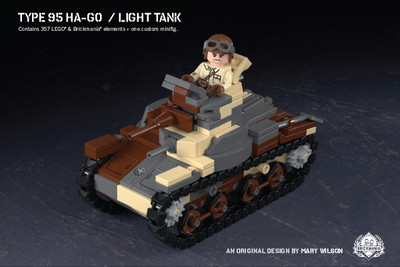 Type 95 Ha-Go - Light Tank