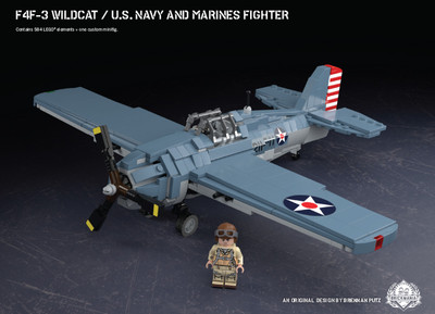 F4F-3 Wildcat - U.S. Navy and Marines Fighter